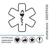 medicine  ambulance  icon   Shutterstock .eps vector #330295436