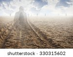 soul of a man in the land of... | Shutterstock . vector #330315602