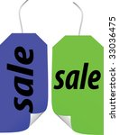 sale stickers and labels | Shutterstock .eps vector #33036475