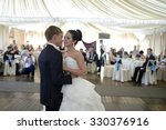 wedding couple in the... | Shutterstock . vector #330376916