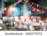 abstract blur people in party ... | Shutterstock . vector #330377072