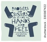 stylized illustration of hands...   Shutterstock .eps vector #330387422