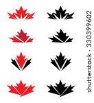 Unique Vector Canadian Maple...