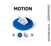 motion icon  vector symbol in...