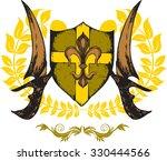 crest   Shutterstock . vector #330444566