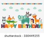 Happy Birthday   Lovely Vector...