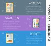vector illustration  statistics ... | Shutterstock .eps vector #330452072
