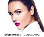 high fashion look.glamor... | Shutterstock . vector #330480992