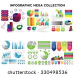 infographic mega collection.... | Shutterstock .eps vector #330498536