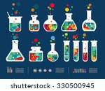 vector illustration of icon... | Shutterstock .eps vector #330500945
