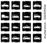 cars simply vector icon set | Shutterstock .eps vector #330509036