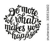 hand lettering typography... | Shutterstock . vector #330513602