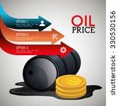 oil prices infographic design ... | Shutterstock .eps vector #330530156