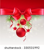 christmas greeting card.... | Shutterstock . vector #330531992