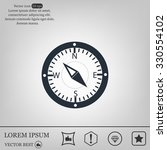 compass web icon | Shutterstock .eps vector #330554102