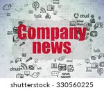 news concept  painted red text... | Shutterstock . vector #330560225