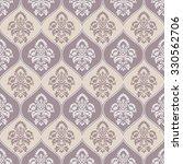 damask seamless motif...   Shutterstock .eps vector #330562706