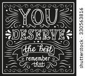 hand lettering typography... | Shutterstock .eps vector #330563816