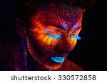 close up uv portrait | Shutterstock . vector #330572858