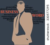 business cloud thought process | Shutterstock .eps vector #330577295