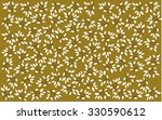 white leaves branches on warm... | Shutterstock . vector #330590612