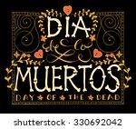 day of the dead vector... | Shutterstock .eps vector #330692042