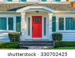 a nice entrance of a luxury... | Shutterstock . vector #330702425