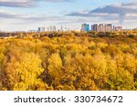 Modern City And Yellow Woods I...