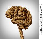 tangled brain mental health... | Shutterstock . vector #330752915