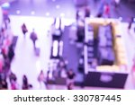blurred shopping mall | Shutterstock . vector #330787445