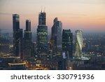 moscow   sep 20  2015  modern... | Shutterstock . vector #330791936