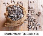 Pile Of Sunflower Seeds In The ...