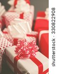 christmas gifts  time for... | Shutterstock . vector #330822908