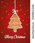 merry christmas colorful card... | Shutterstock .eps vector #330861266