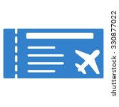 airticket vector icon. style is ... | Shutterstock .eps vector #330877022