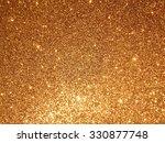 gold glitter decoration... | Shutterstock . vector #330877748