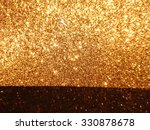 black and gold glitter wallpaper | Shutterstock . vector #330878678