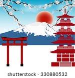 Fuji  Japan Travel Concept...