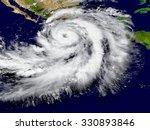 illustration of hurricane... | Shutterstock . vector #330893846