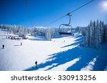 ski lift   Shutterstock . vector #330913256
