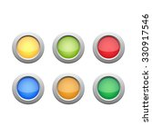 button color set. buttons icons.... | Shutterstock .eps vector #330917546