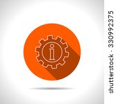 technical information web icon  ...   Shutterstock .eps vector #330992375