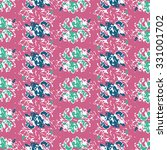 seamless  pattern with violet... | Shutterstock .eps vector #331001702