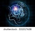 human tangents series. abstract ...   Shutterstock . vector #331017638