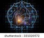 human tangents series. design... | Shutterstock . vector #331020572