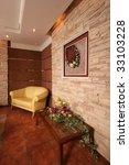 beautiful modern interior of a...   Shutterstock . vector #33103228