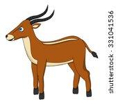 antelope | Shutterstock .eps vector #331041536