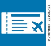 airticket vector icon. style is ... | Shutterstock .eps vector #331081436