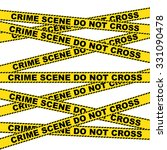 Crime Scene Warning Background