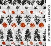 various imprint leaves on... | Shutterstock .eps vector #331103906
